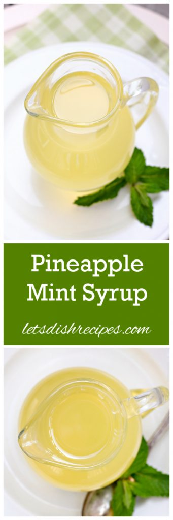 Pineapple Syrup Pin