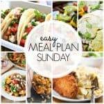 Easy Meal Plan Sunday {Week 47}