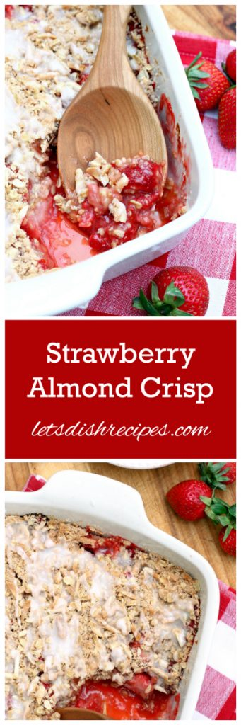 Strawberry Almond Crisp