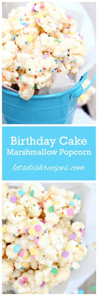 Birthday Popcorn Pin