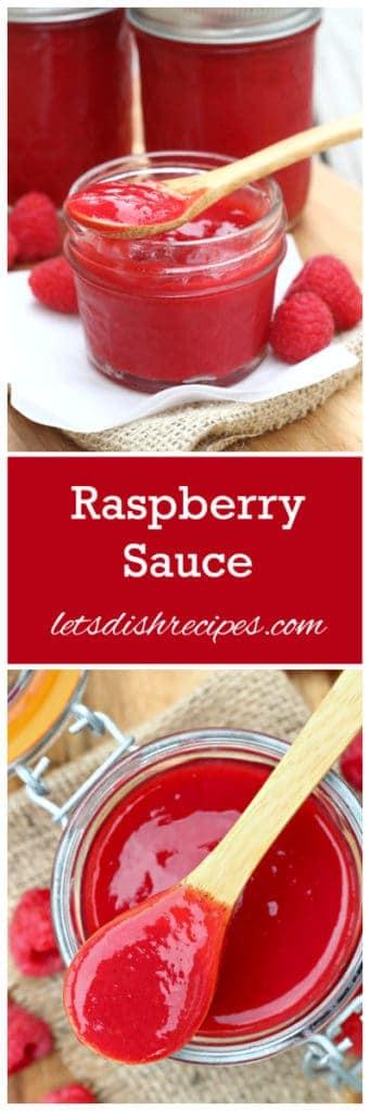 Raspberry Sauce Pin