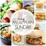 Easy Meal Plan Sunday {Week 60}
