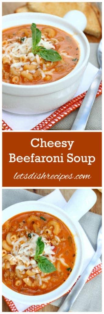Beefaroni Soup Pin