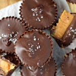 Mini Salted Caramel Cups