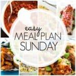 Easy Meal Plan Sunday {Week 78}