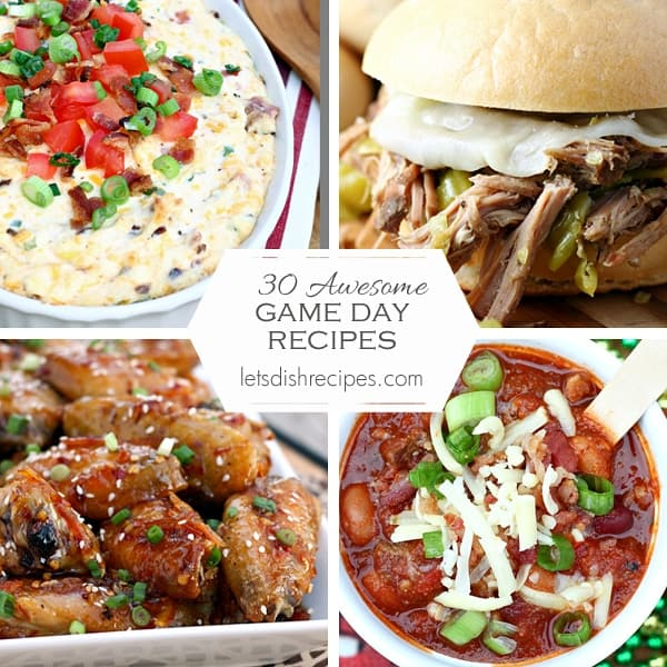 Thirty Awesome Game Day Recipes