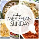Easy Meal Plan Sunday {Week 82}