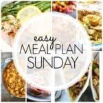Easy Meal Plan Sunday {Week 85}