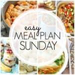 Easy Meal Plan Sunday {Week 86}
