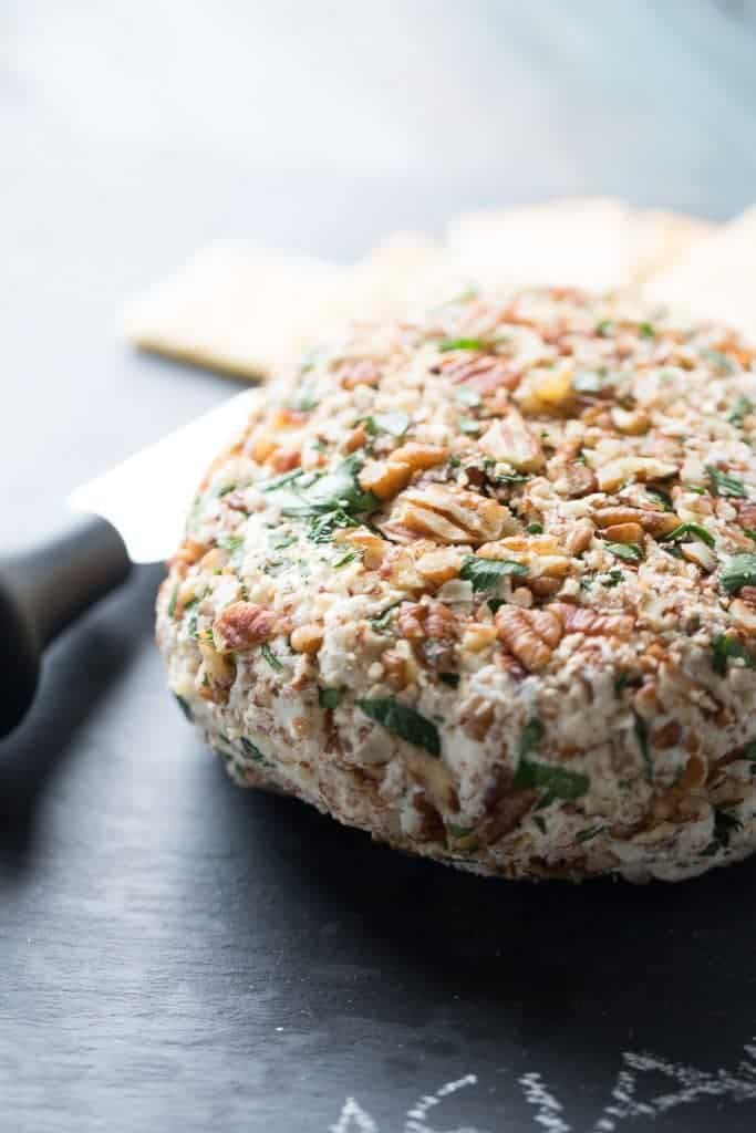 Asiago Cheese Ball