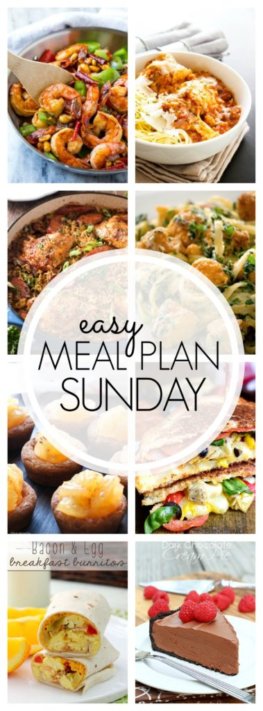 Easy Meal Plan Sunday {Week 88}