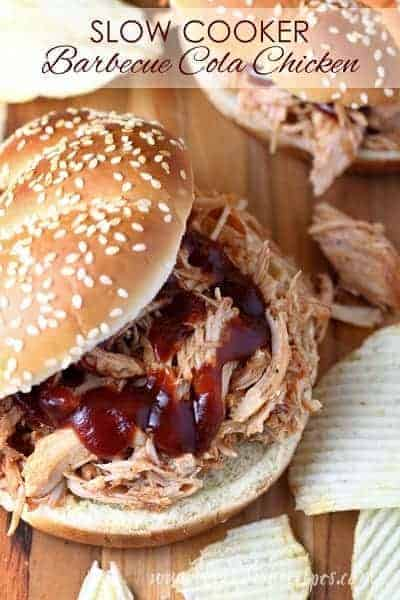 Slow Cooker Barbecue Cola Chicken