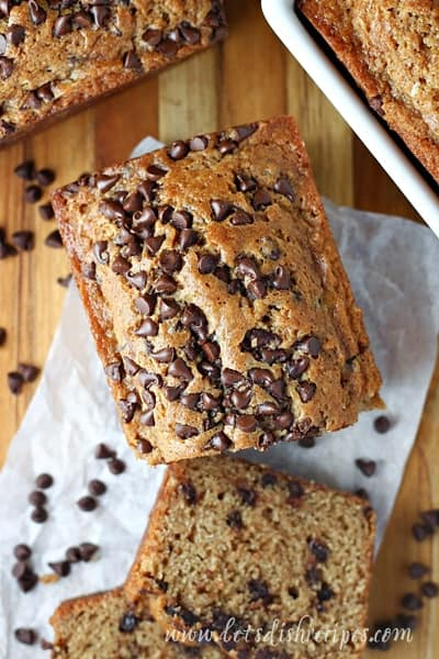 Chocolate Chip Spice Bread