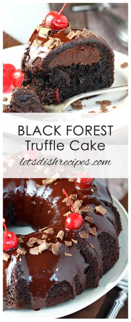 Black Forest Truffle Cake