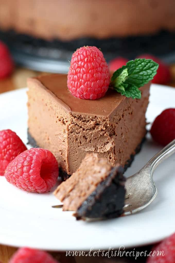 Pressure Cooker Chocolate Cheesecake | Let's Dish Recipes