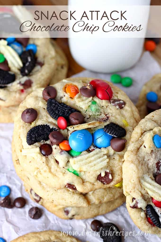 Snack Attack Chocolate Chip Cookies