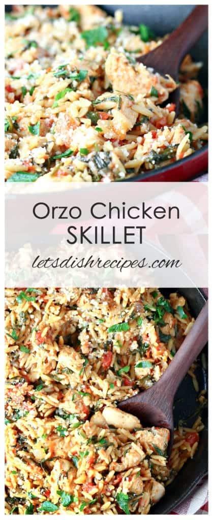 Orzo Chicken Skillet