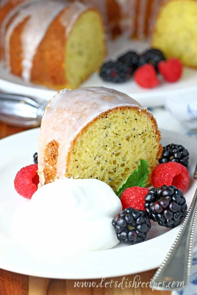Easy Poppy Seed Cake Let S Dish Recipes