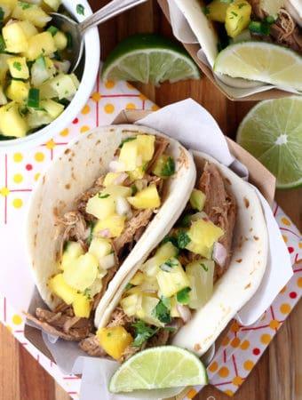 Caribbean Jerk Pulled Pork Tacos
