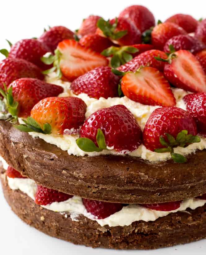Buttermilk Raspberry Bundt Cake