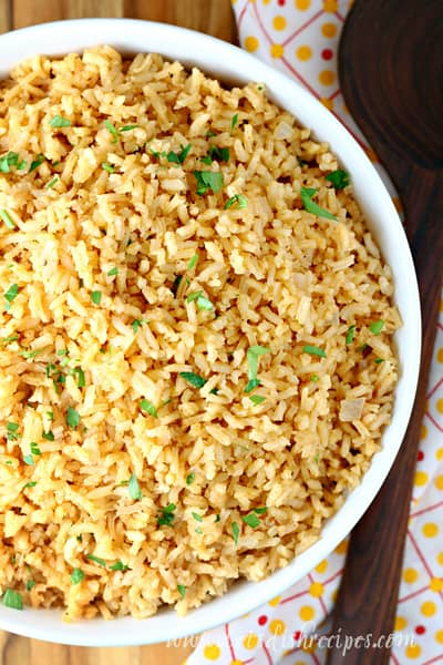 Copycat Restaurant Style Mexican Rice