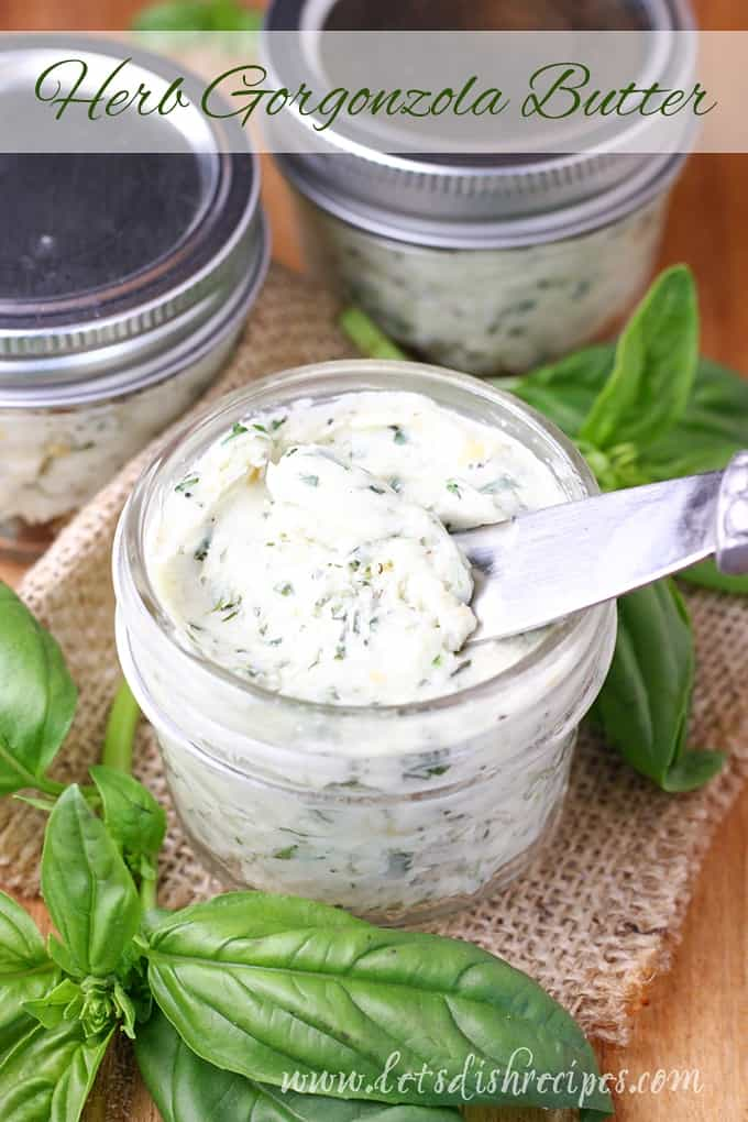 Herb Gorgonzola Butter