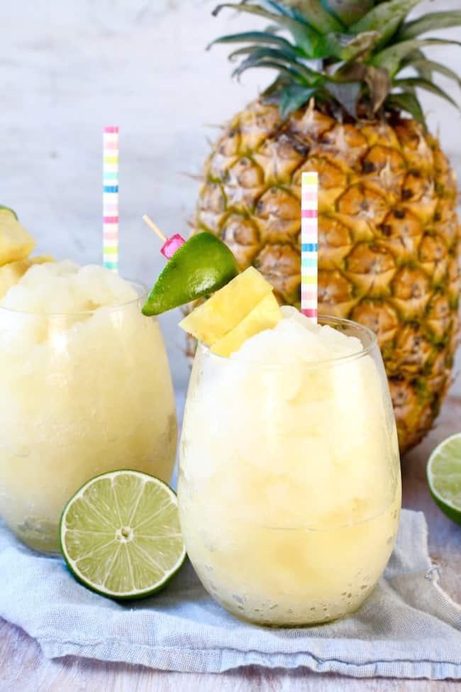 Pineapple Limeade Slush