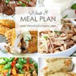Let's Dish Easy Meal Plan (Week 8)