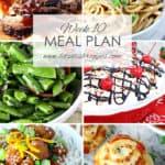 Let's Dish Easy Meal Plan (Week 10)