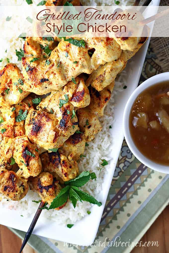 Grilled Tandoori Style Chicken