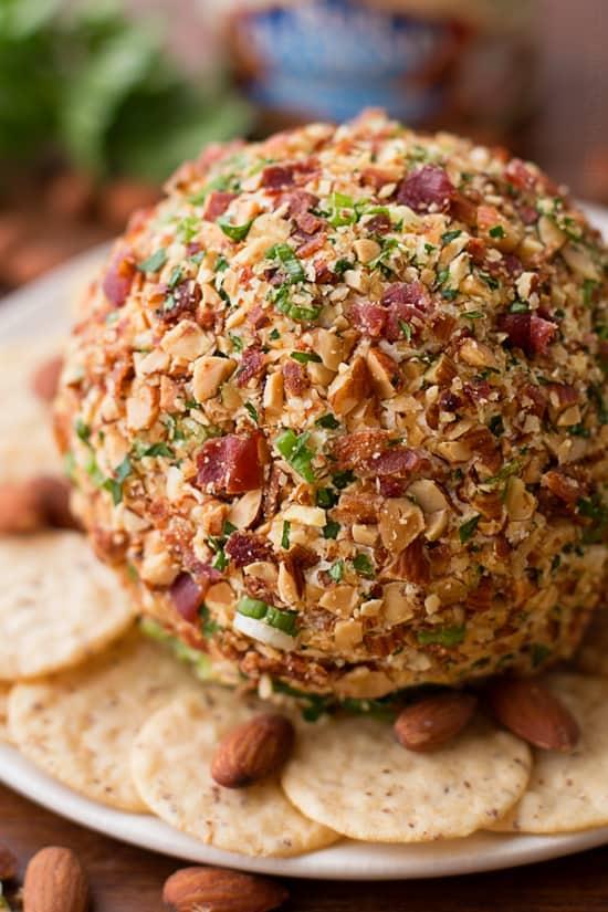 Smoked Bacon Ranch Cheese Ball