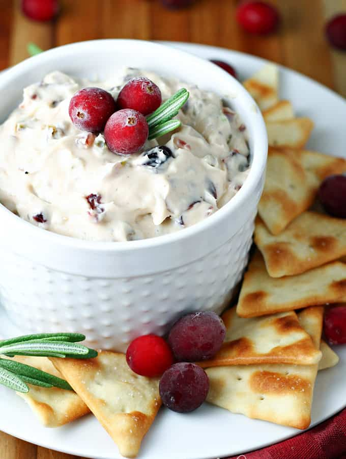 Cranberry Jalapeno Cream Cheese Spread